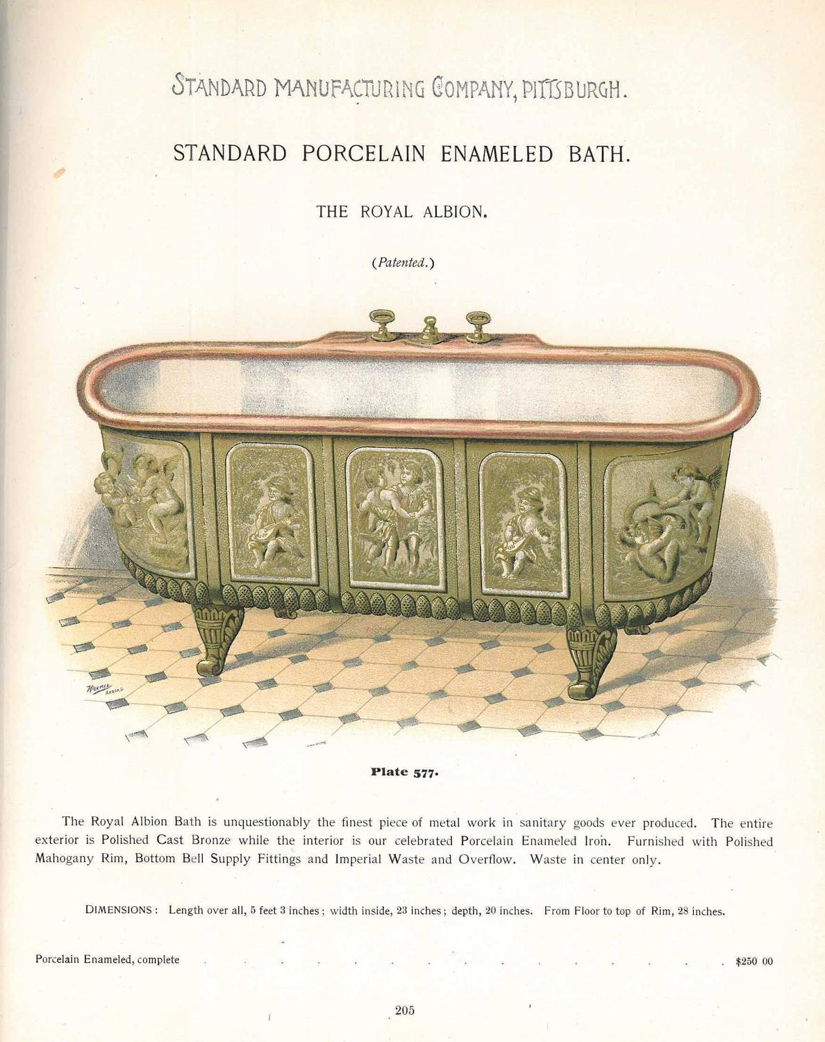 Standard Manufacturing Co Pittsburgh Catalogue of
