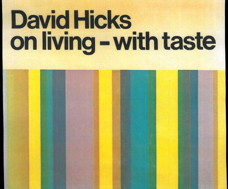 Set of Five David Hicks 1st Edition Books In Excellent Condition For Sale In North Yorkshire, GB