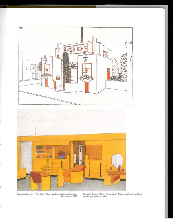 Rob mallet stevens architecture furniture interior for Color for interior design ethel rompilla