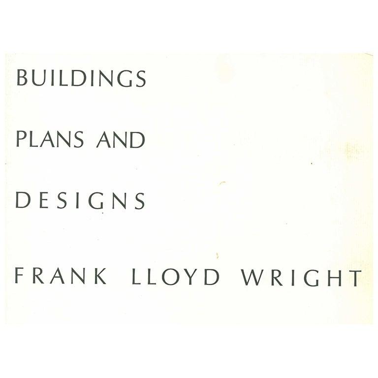 Buildings Plans Designs Frank Lloyd Wright Folio For