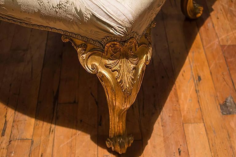 English Giltwood Chair  2