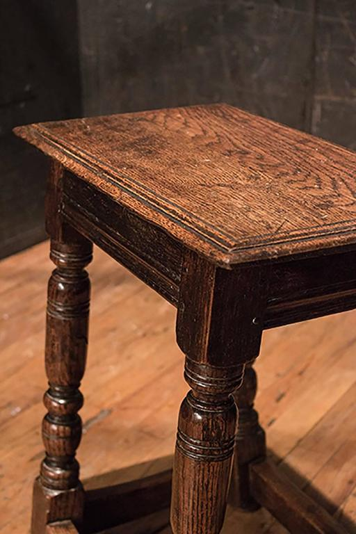 English Pair of Joint Stools 3