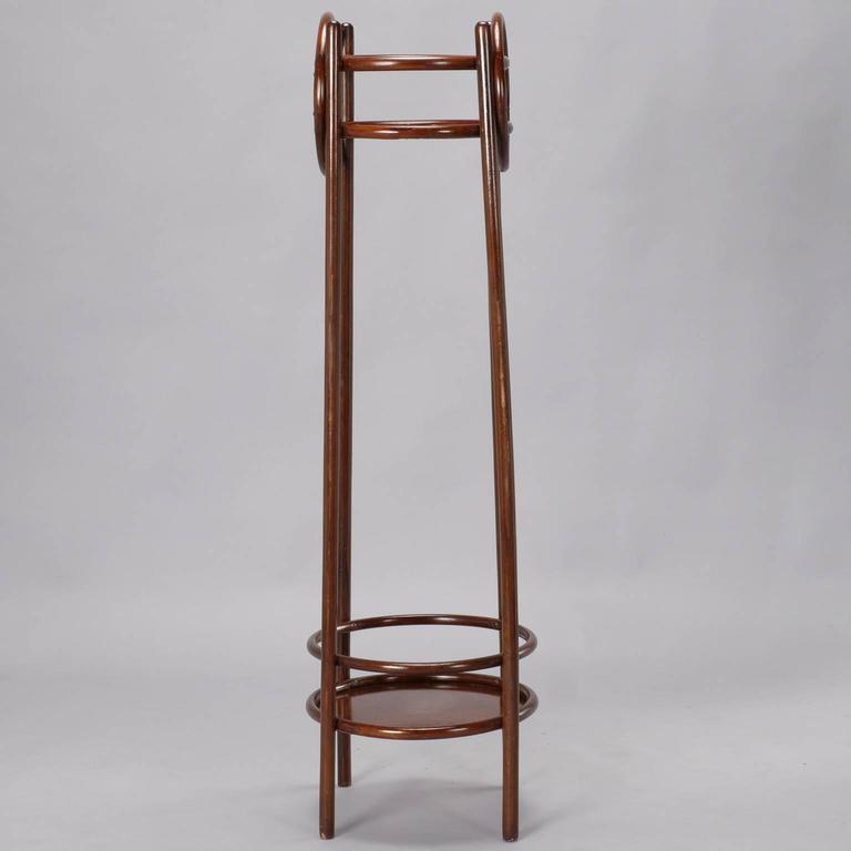Thonet Art Nouveau Bentwood Plant Stand For Sale 1