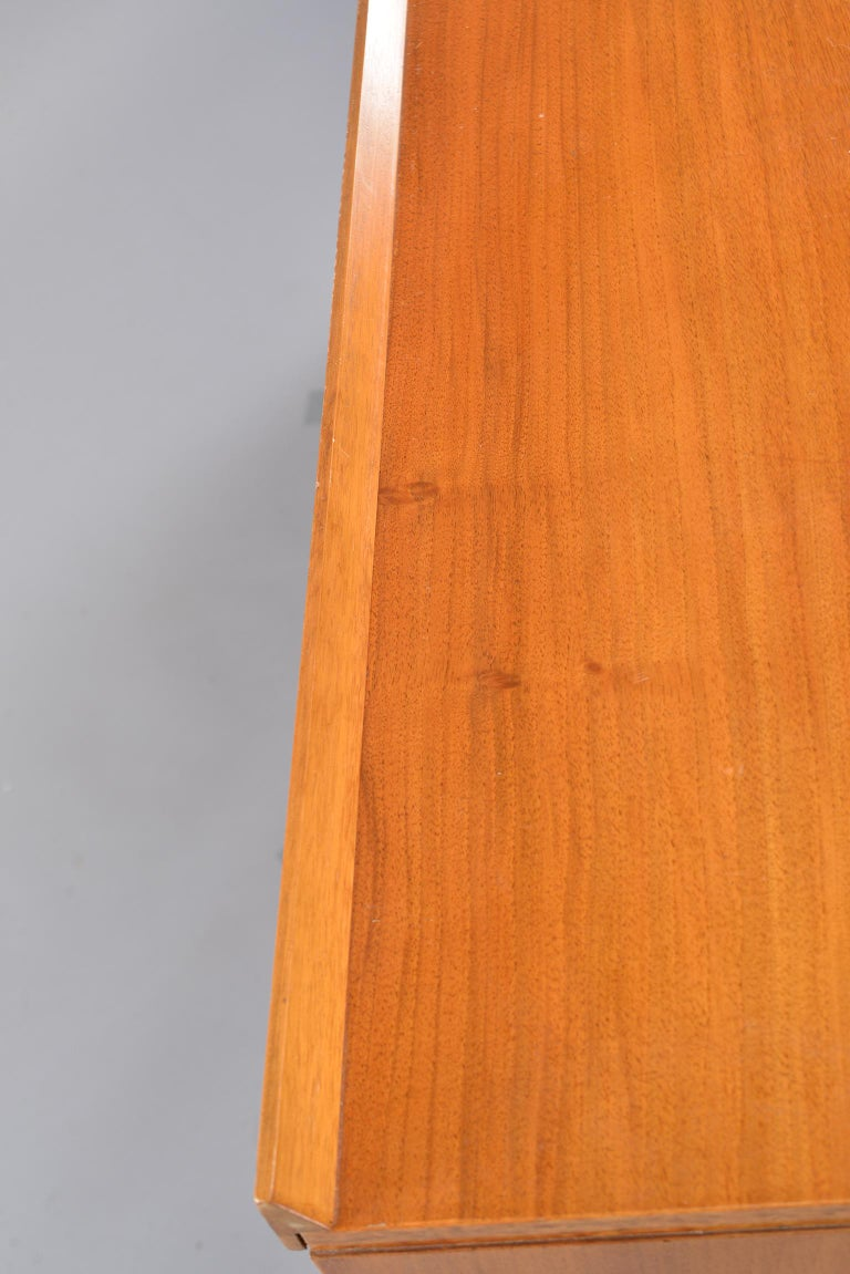 Midcentury English Walnut Sideboard For Sale 7