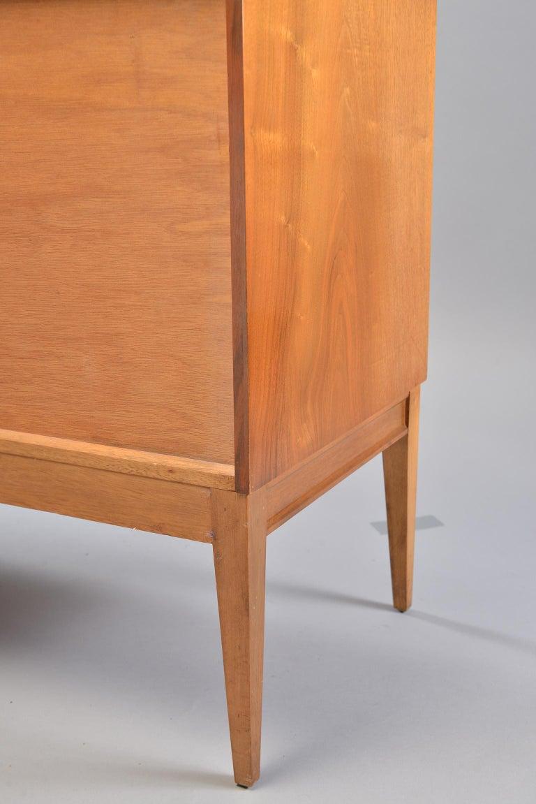 Midcentury English Walnut Sideboard For Sale 8