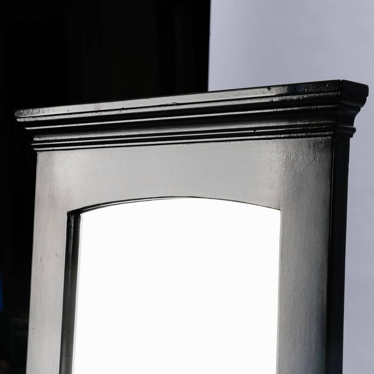 Tall neoclassical ebonized mirror for sale at 1stdibs for Tall mirrors for sale