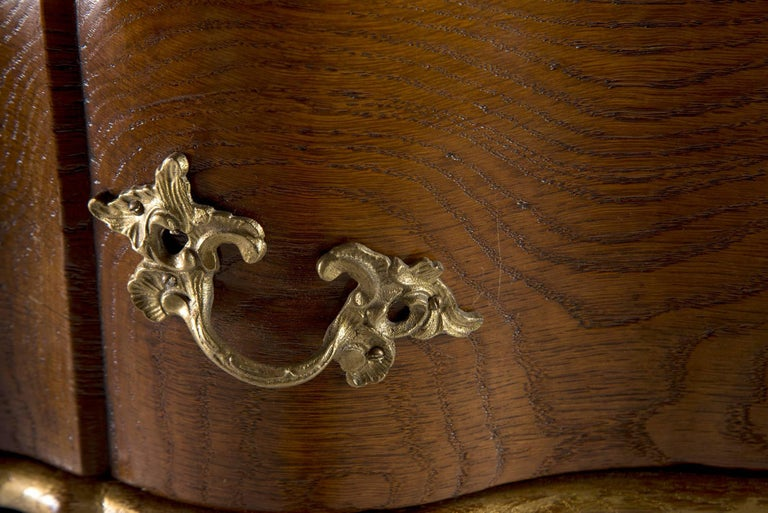 19th Century Danish Chest of Drawers with Gilt Detailing For Sale 2