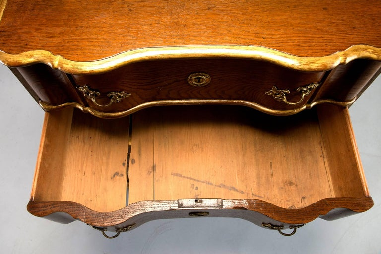 19th Century Danish Chest of Drawers with Gilt Detailing For Sale 3
