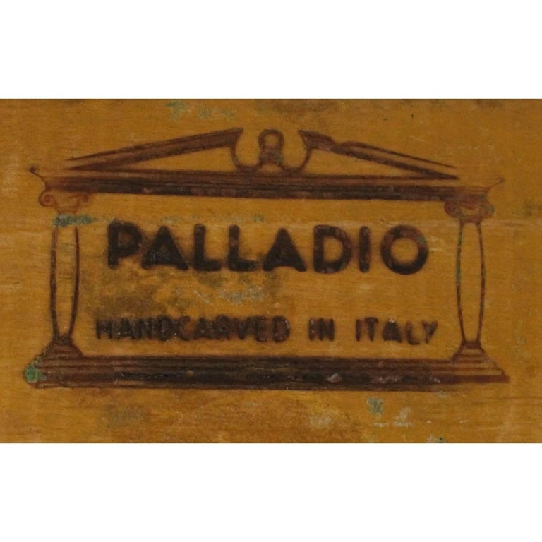20th Century Wooden Urn Lamp by Palladio For Sale