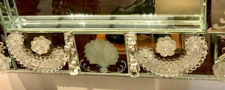 Stunning  Mid-Century Venetian Mirror For Sale 6
