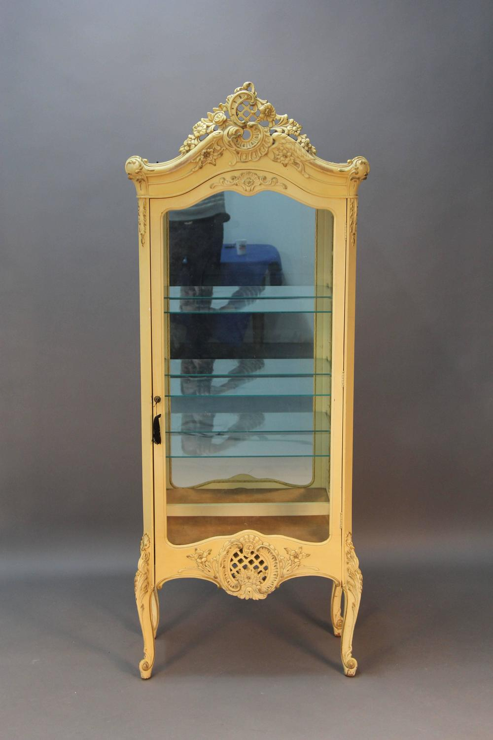 French Style Curio Cabinet For Sale At 1stdibs