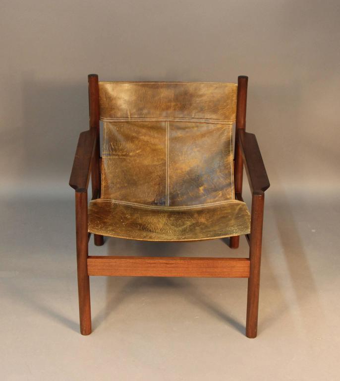 Wondrous Leather Slingback Chair Cjindustries Chair Design For Home Cjindustriesco