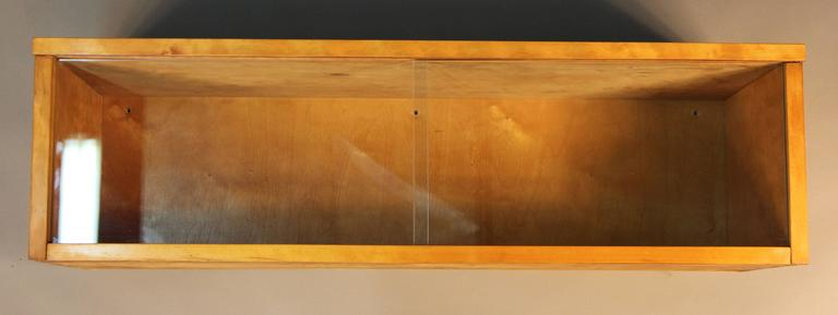 Mid-Century Modern Alvar Aalto Wall Display Case For Sale