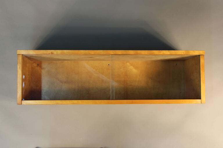 Mid-20th Century Alvar Aalto Wall Display Case For Sale