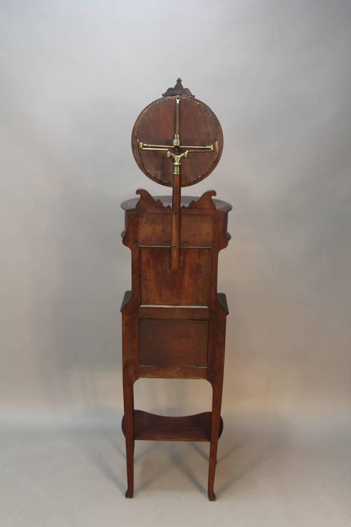 Victorian Mahogany Shaving Station with Movable Mirror 3