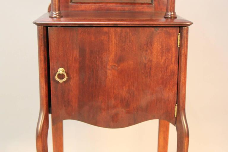 Victorian Mahogany Shaving Station with Movable Mirror 4