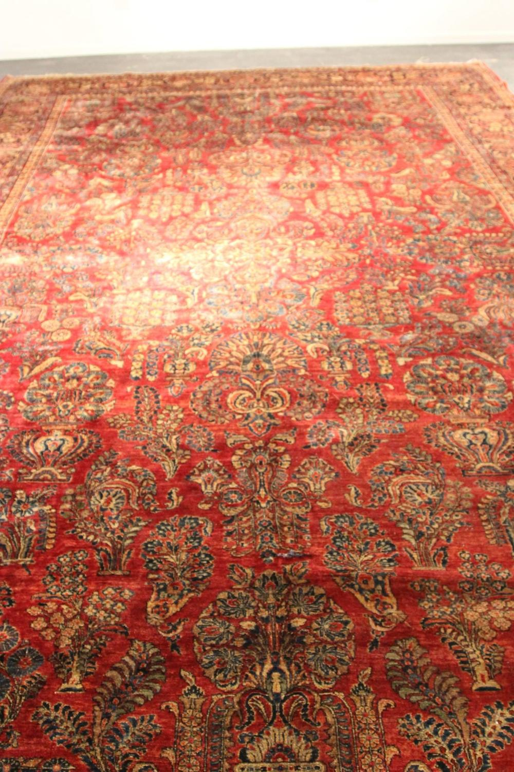 Antique Oriental Palace Rug Signed For Sale At 1stdibs