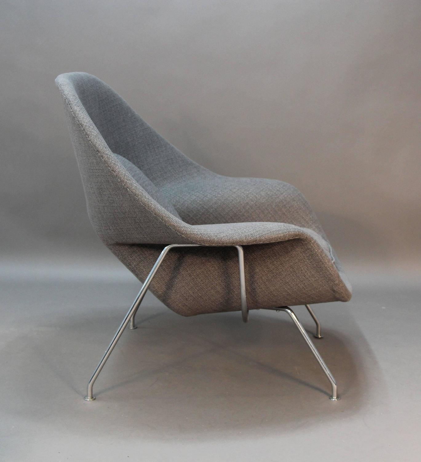 Womb chair and ottoman sale womb chair clearance sale womb chair chair womb saarinen leather - Vintage womb chair for sale ...