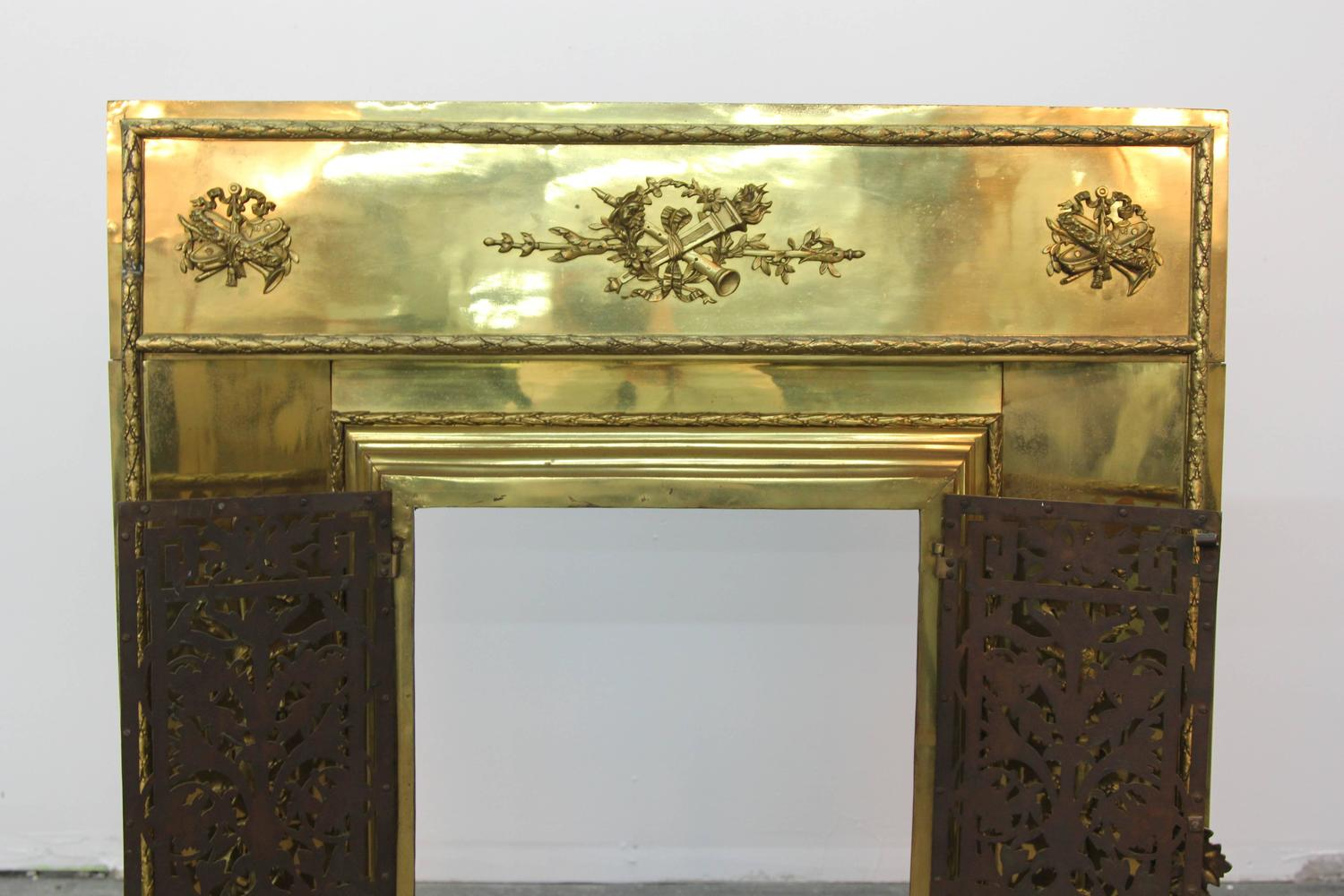 Grand Fireplace Insert For Sale At 1stdibs