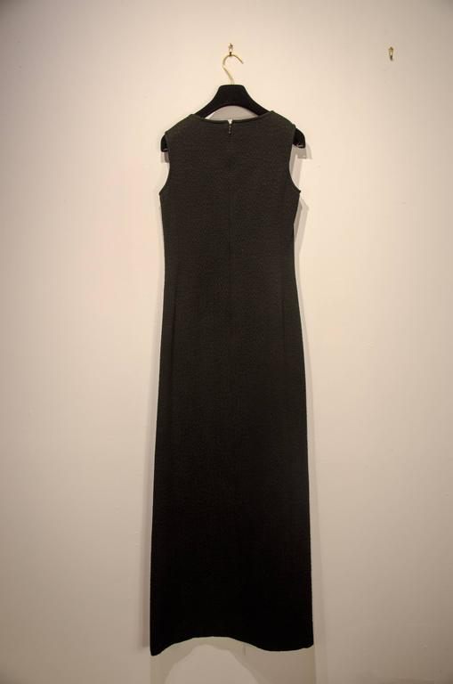 Chanel Quilted Gown In Good Condition For Sale In Norwalk, CT