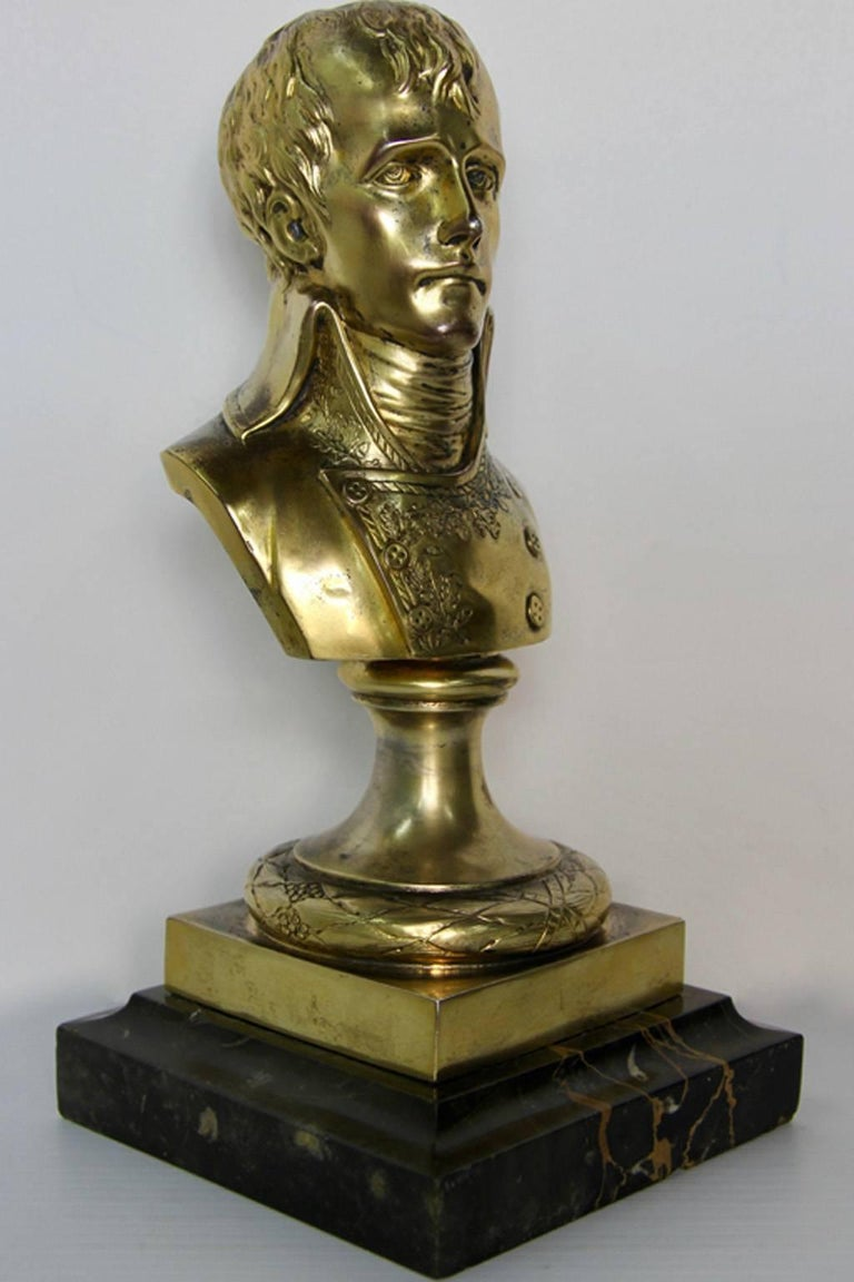 Rare Antique Silver Sculpture Young Napoleon For Sale 4