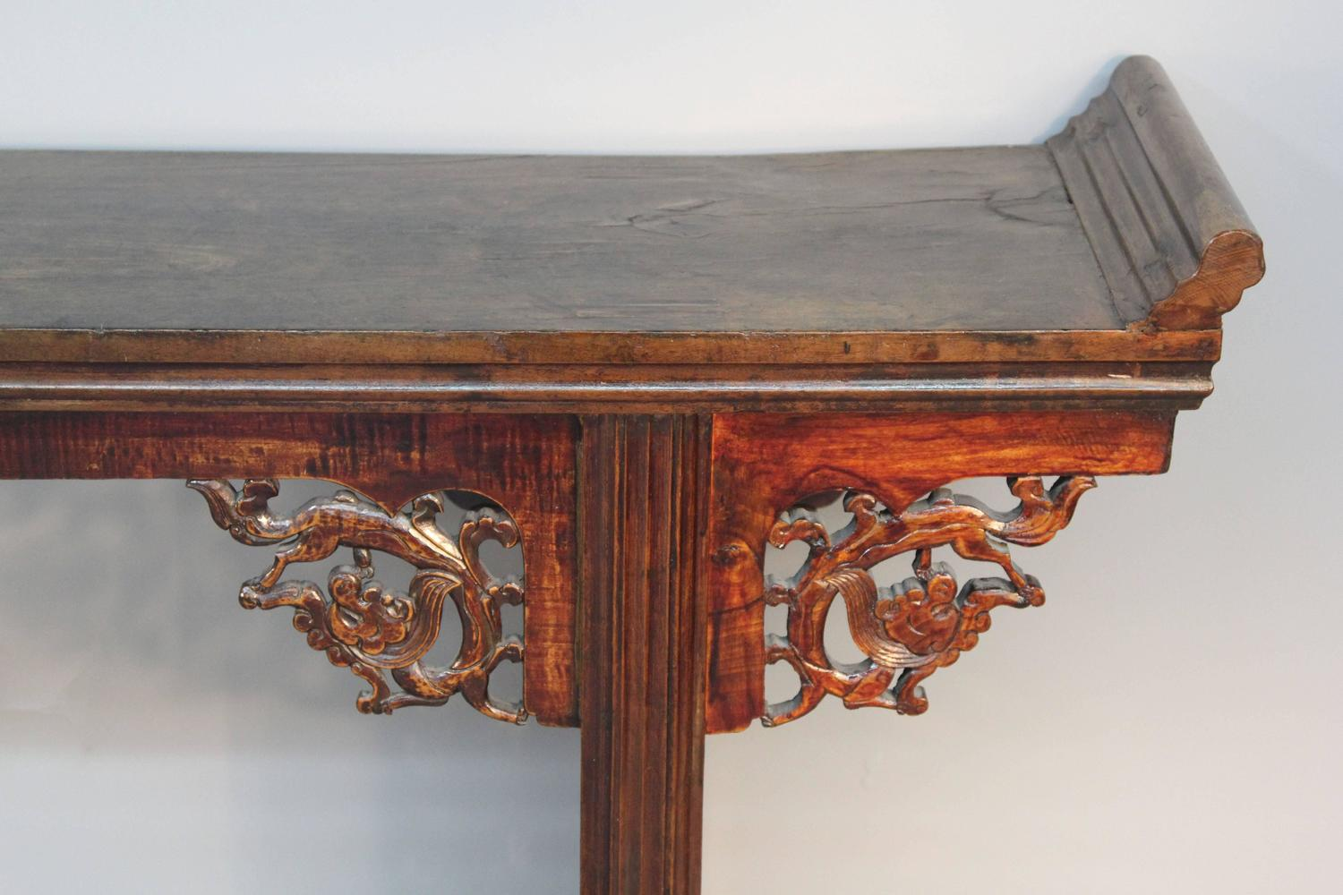 Large chinese altar table for sale at 1stdibs for Chinese furniture norwalk ct