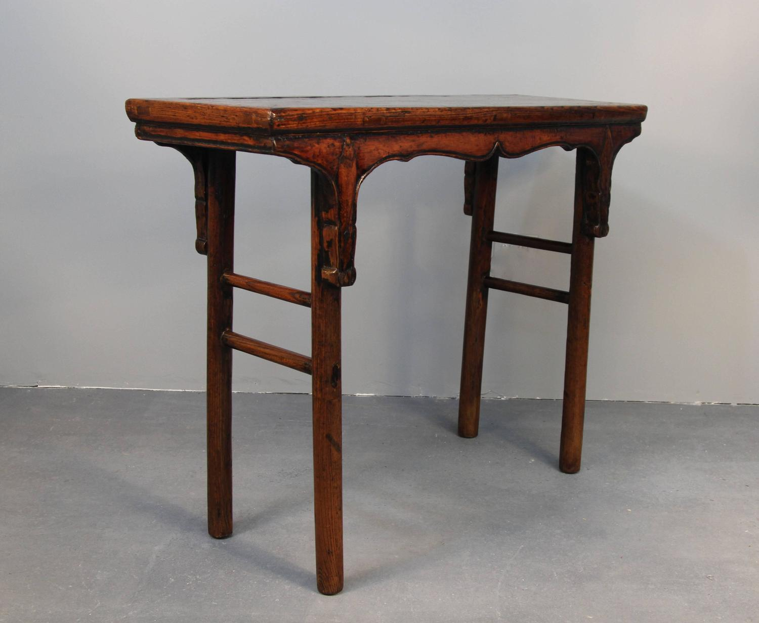 Chinese hardwood altar table at 1stdibs for Chinese furniture norwalk ct