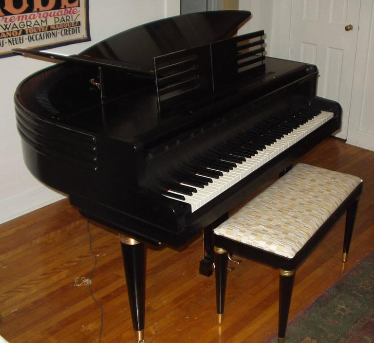 "Wurlitzer ""Butterfly"" Baby Grand Piano 2"