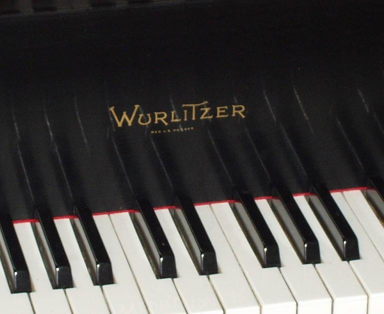 "Wurlitzer ""Butterfly"" Baby Grand Piano 1"