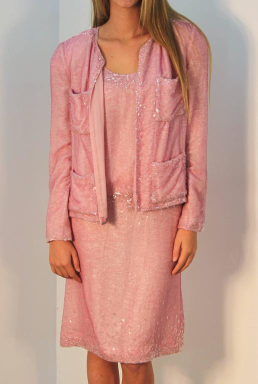 Chanel Pretty in Pink Dress and Jacket 3
