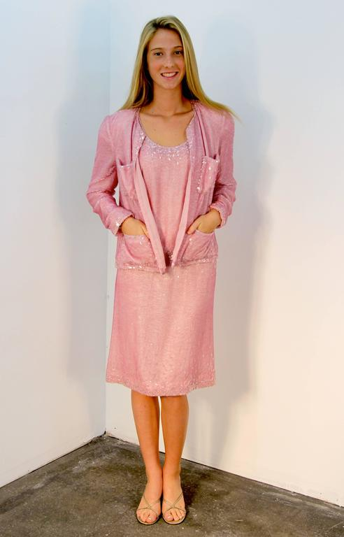 Chanel Pretty in Pink Dress and Jacket 7
