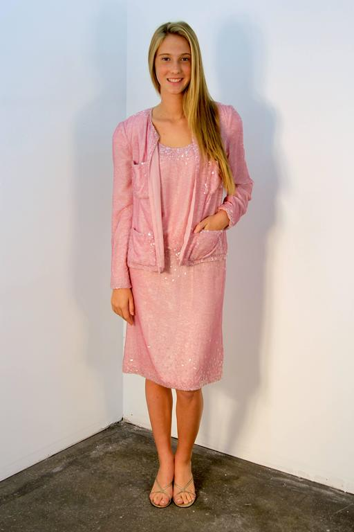 Chanel Pretty in Pink Dress and Jacket 2