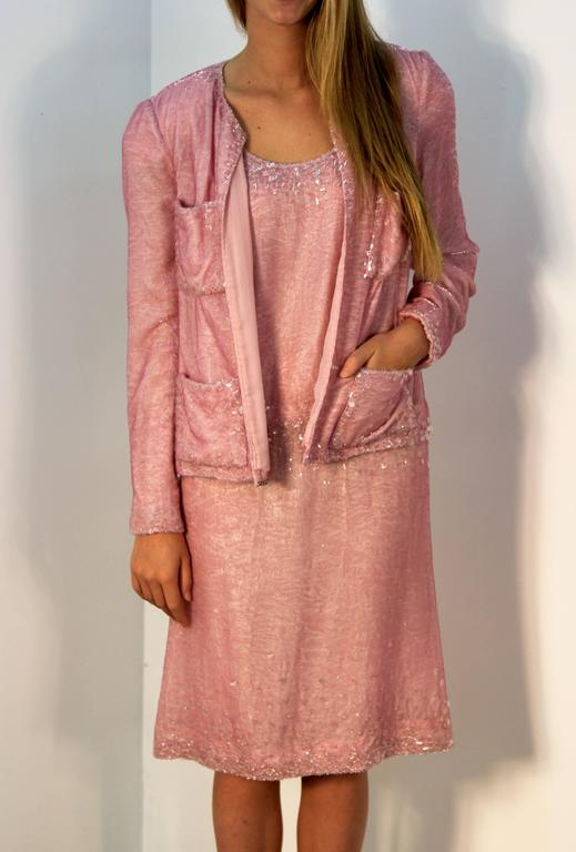 Chanel Pretty in Pink Dress and Jacket 6