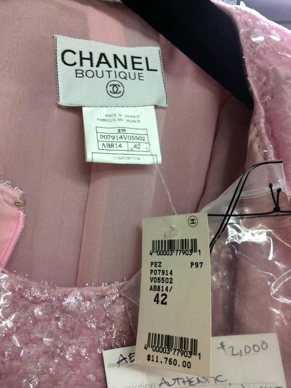 Chanel Pretty in Pink Dress and Jacket 5