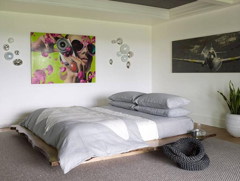 Live Edge Custom Platform King Bed 2