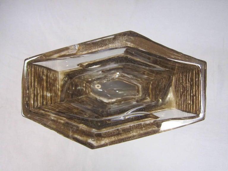 Sculptural 1970s Daum Vase by César Baldaccini For Sale 1
