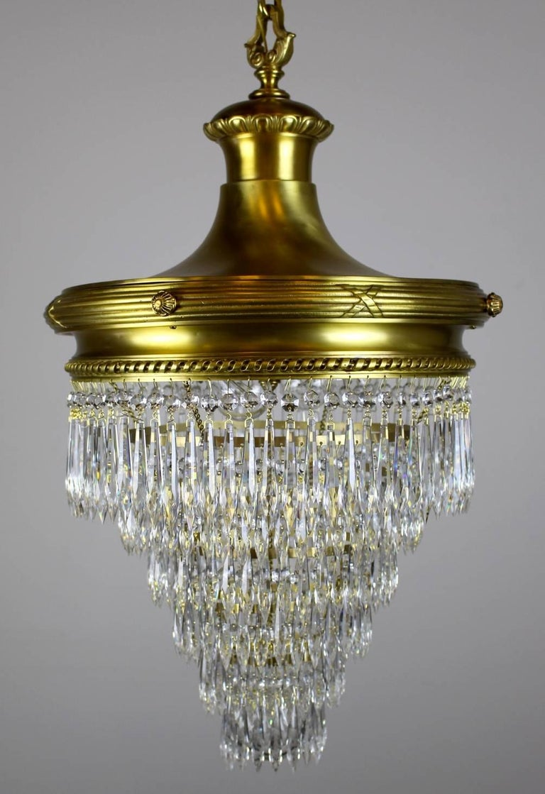 Wedding Cake Chandelier By R Williamson For Sale At 1stdibs