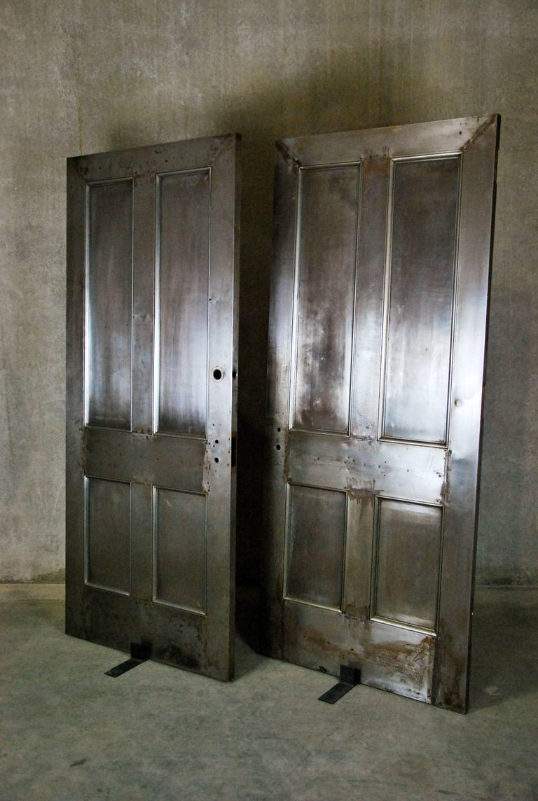 1910 Metal Interior Industrial Style Doors For Sale At 1stdibs