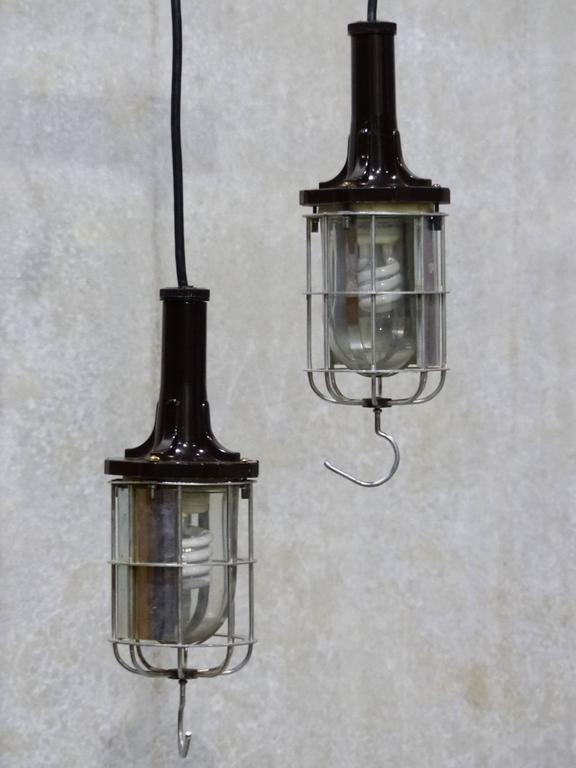 Mcgill Vintage 1960 Safety Vaporproof Trouble Light