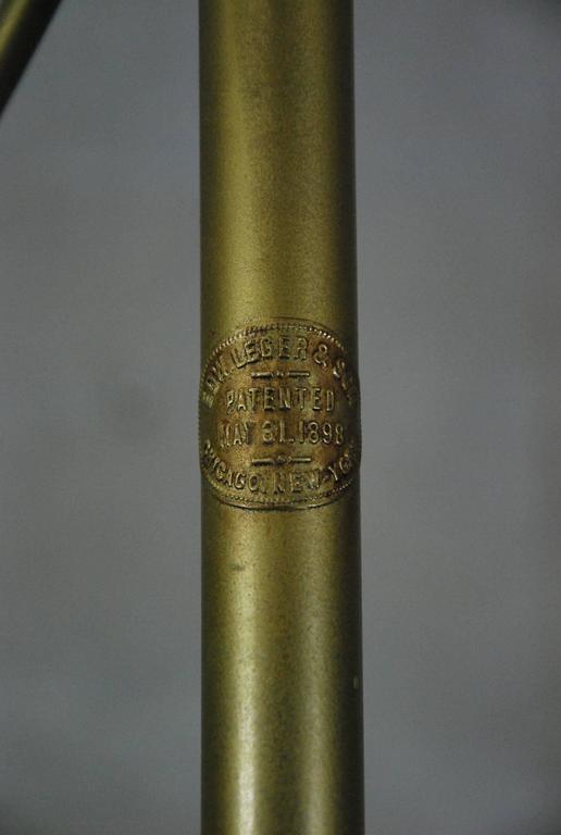 19th Century Brass Garment Clothing Rack