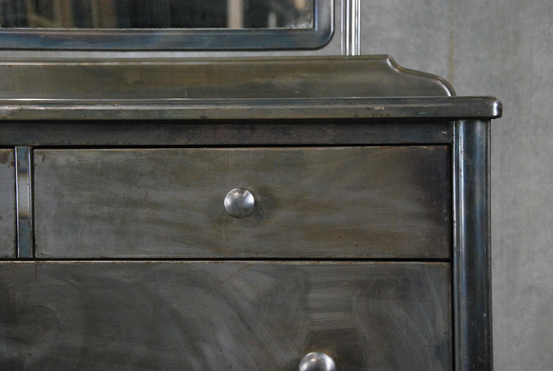 Vintage Metal Dresser Hospital Furniture 5 Kids 1stdibs 1930 Simmons At