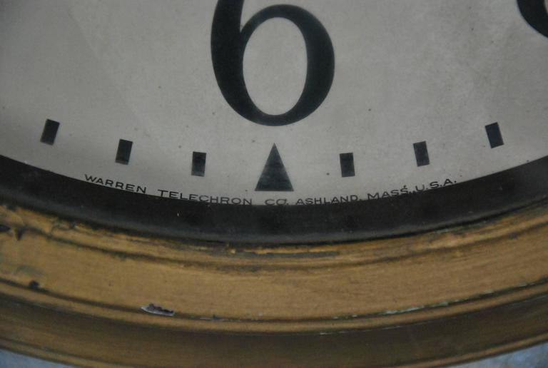 1940 Wall Mounted Telechron Clock At 1stdibs