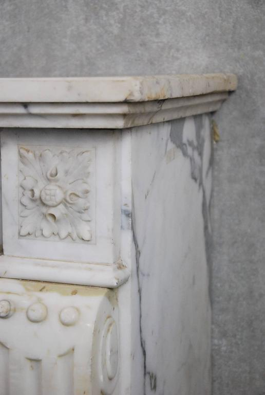 19th Century French Marble Fireplace Surround For Sale At