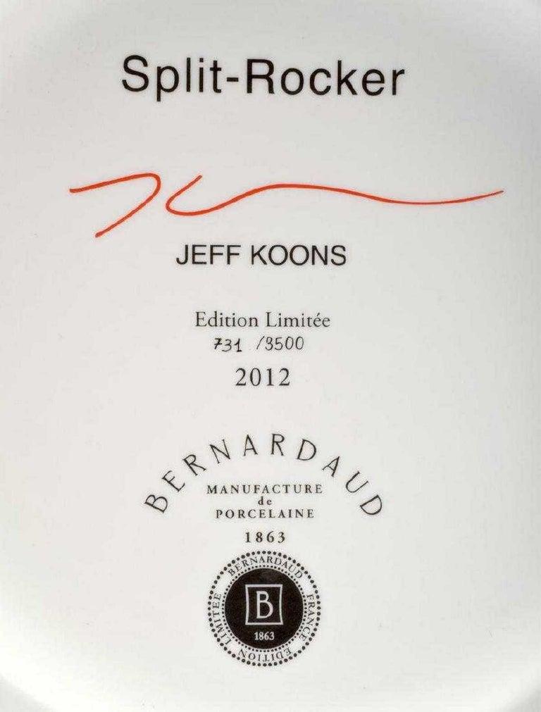 Jeff Koons Split-Rocker Vase, Limited Edition For Sale 3