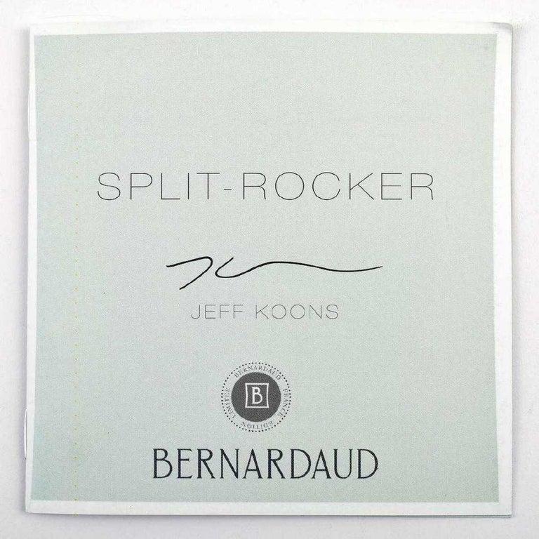 Jeff Koons Split-Rocker Vase, Limited Edition For Sale 4