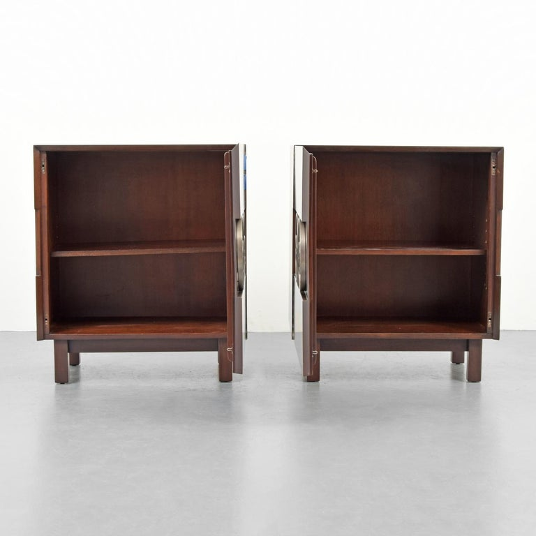 North American Pair of Edmond Spence Cabinets or Nightstands For Sale