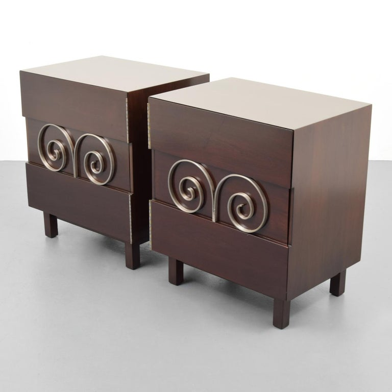 Pair of Edmond Spence Cabinets or Nightstands For Sale 5