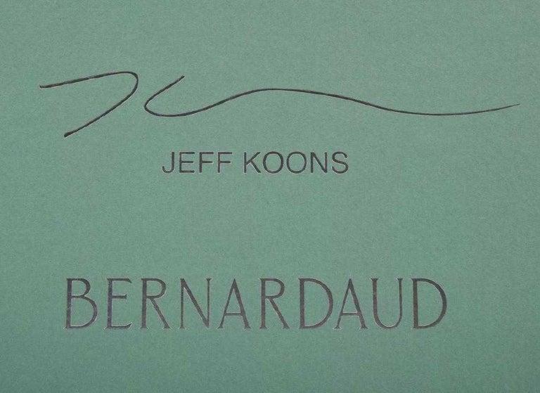 Post-Modern Jeff Koons Split-Rocker Vase, Limited Edition For Sale