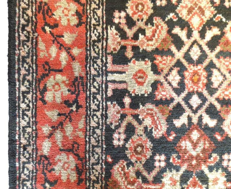 20th Century Antique Persian Malayer Rug, circa 1900s For Sale