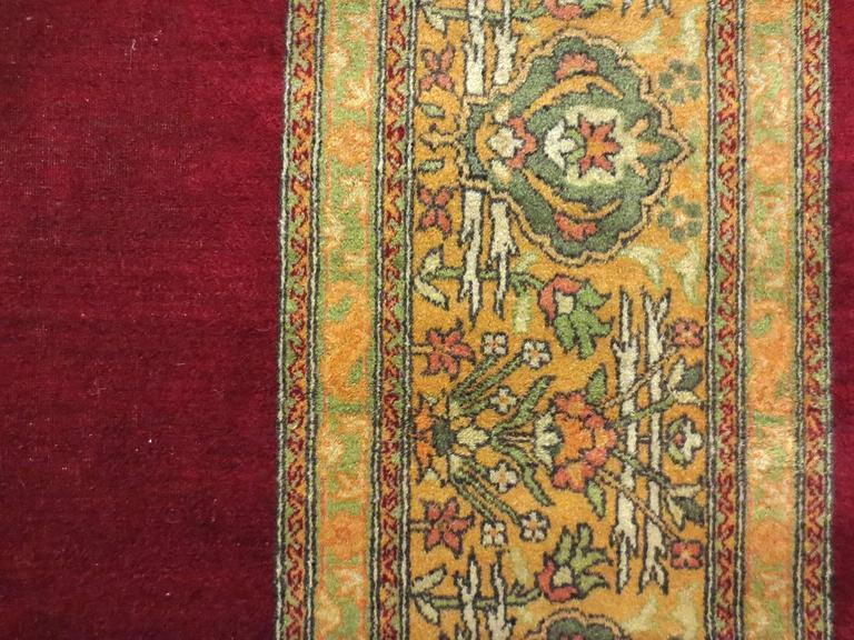 Antique Indian Agra Rug, circa 1880s 2